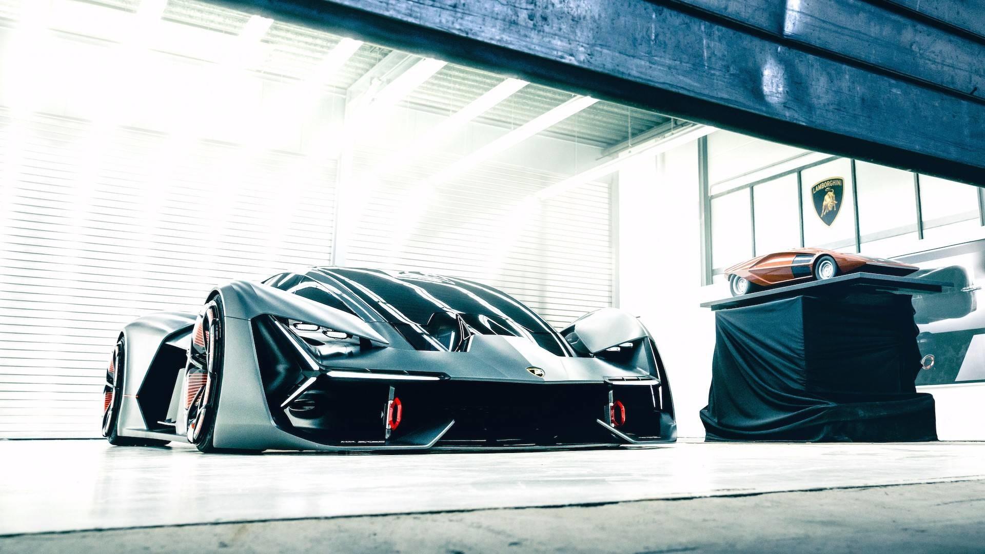 Lamborghini представила прототип будущего суперкара 2040 модельного года