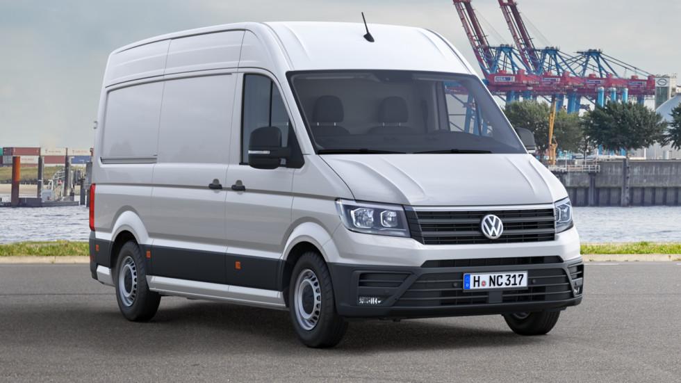 На фото: Volkswagen Crafter