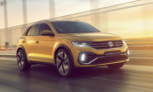 На автомобильном салоне вГуанчжоу дебютировал новый кроссовер VW T-Rockstar