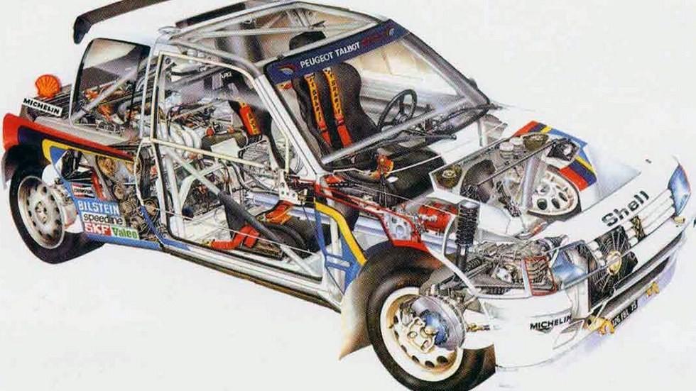 Центральномоторная компоновка французской машины – классика жанра для прототипов этого класса