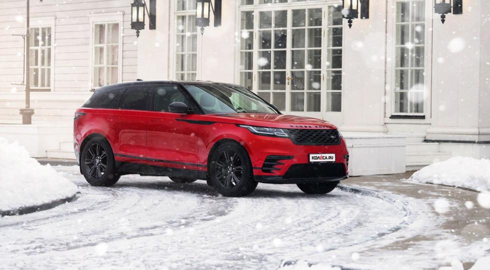 Если тебе Range Rover имя: тест-драйв Range Rover Velar