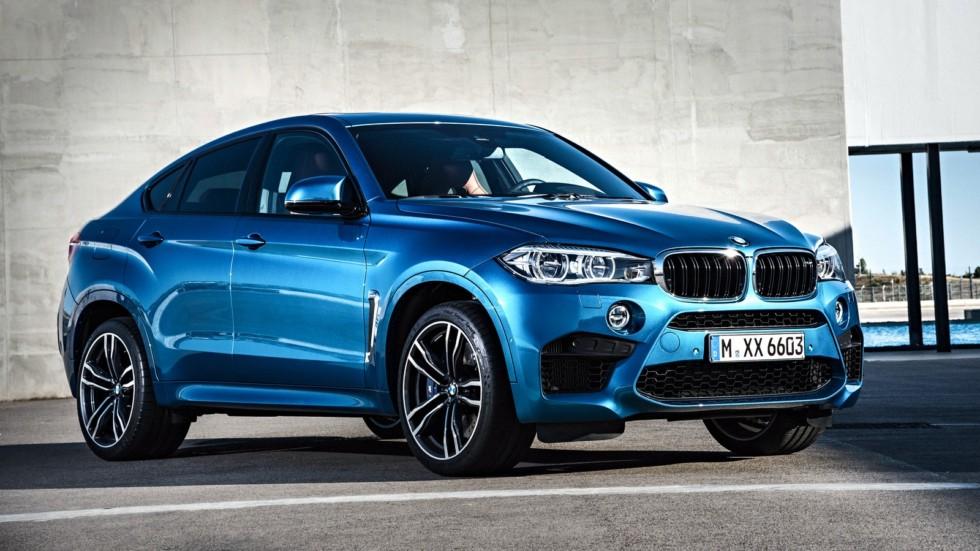 На фото: BMW X6 M (F86) '2015–н.в.