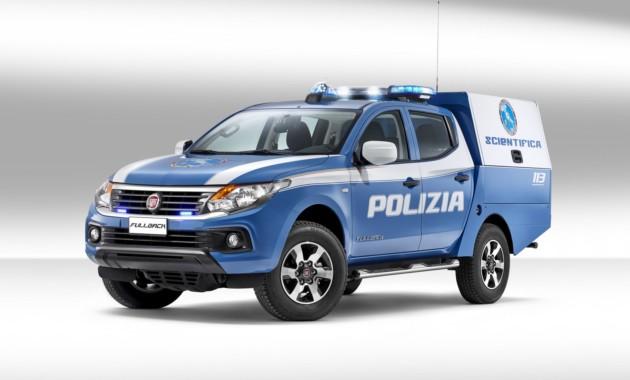Фиат  представил новый пикап Fullback для криминалистов