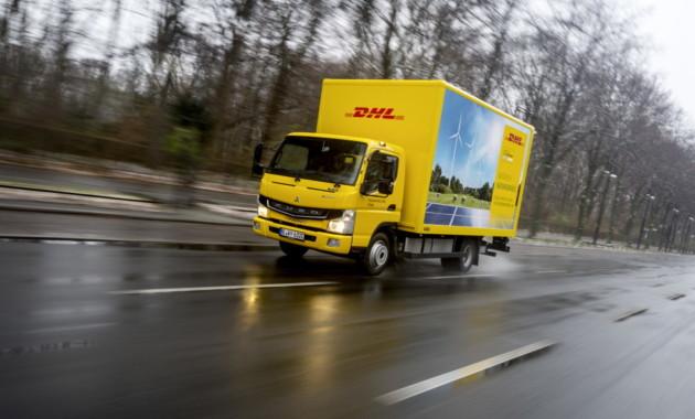 FUSO eCanter стал первым электрическим грузовиком, поставляемым в Европу