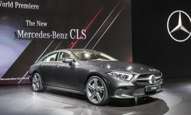Озвучена стоимость нового Мерседес Бенс CLS для рынка стран Европы