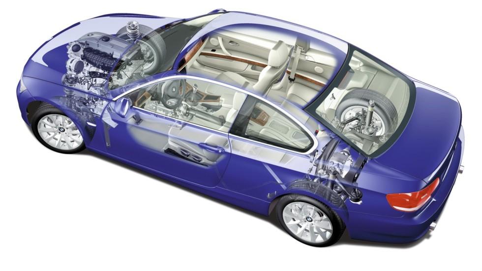 На фото: BMW 3 Series Coupe '2006–2010