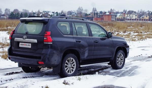Эффект рукоприкладства: тест-драйв обновленного Toyota Land Cruiser Prado 2,8D AT