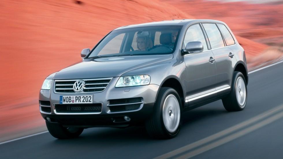 На фото: Volkswagen Touareg '2002–07