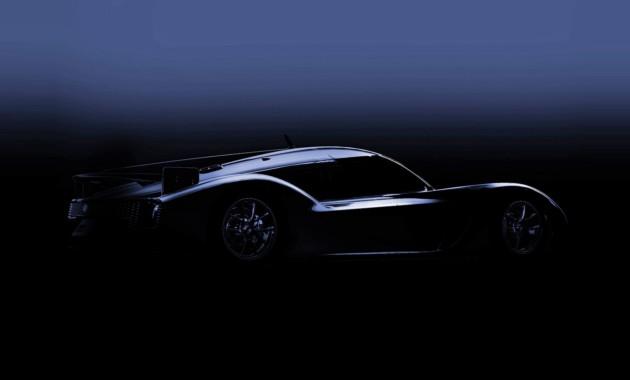 Тоёта показала силуэт нового спорткараGR Super Sport Concept