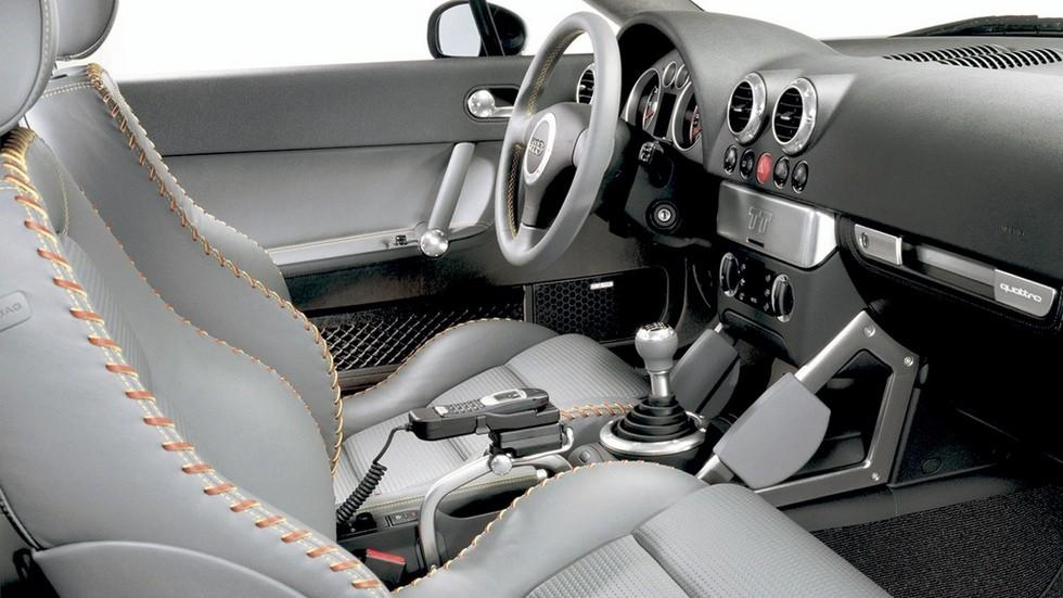 2Интерьер Audi TT Coupe Worldwide (8N) '1998–2003