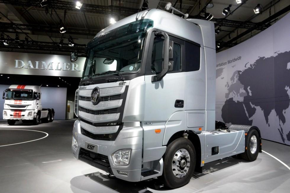 Дебют Fotgon Foton Auman EST A на IAA Commercial Vehicle в Ганновере