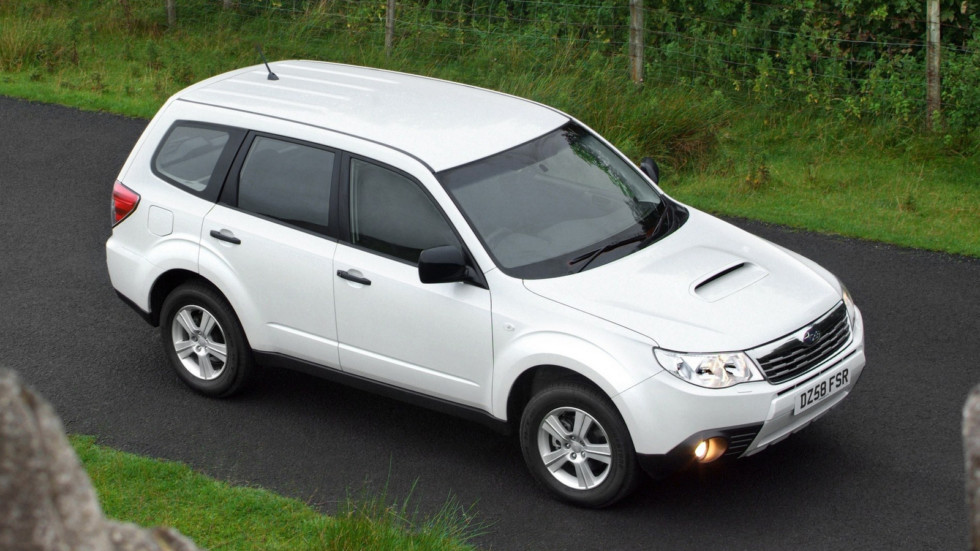 На фото: Subaru Forester (SH)