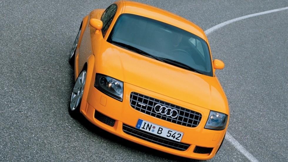 На фото: Audi TT 3.2 quattro Coupe '2003–06