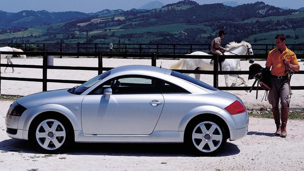 На фото: Audi TT Coupe '1998–2003