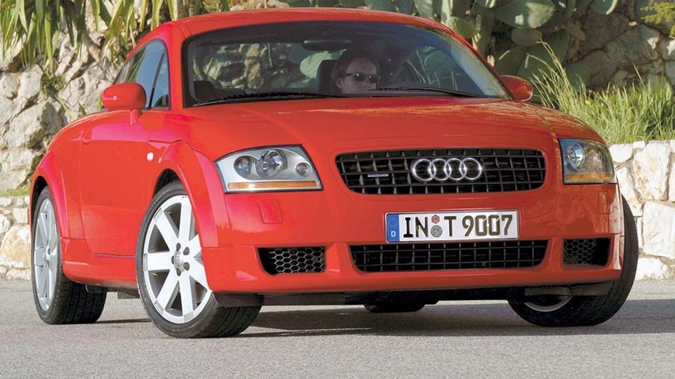 На фото: 7Audi TT Coupe '2003–06