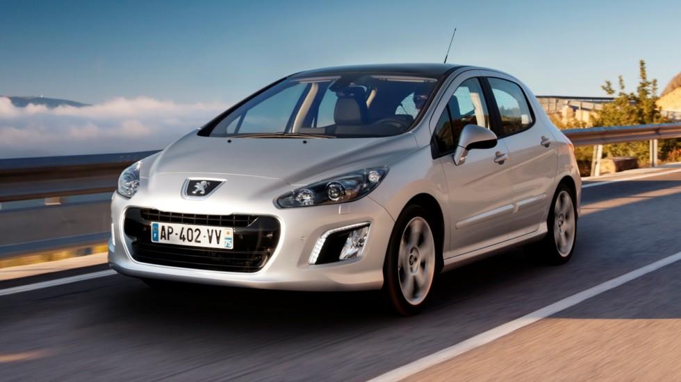 На фото: Peugeot 308 '2011–13