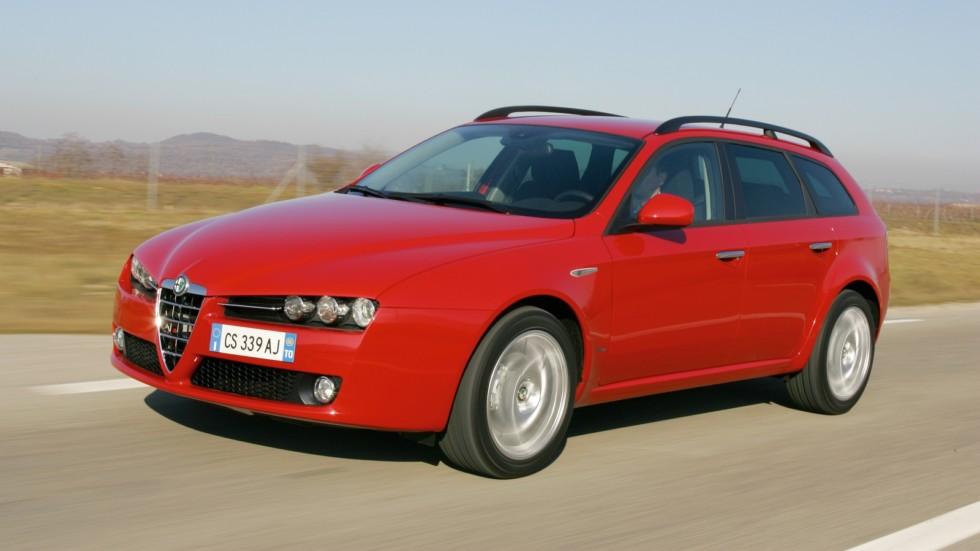 На фото: Alfa Romeo 159 Sportwagon '2006–08