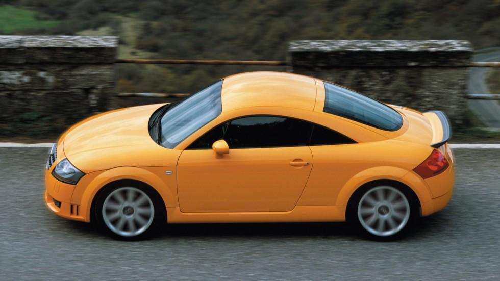 На фото: Audi TT quattro Coupe '2003–06