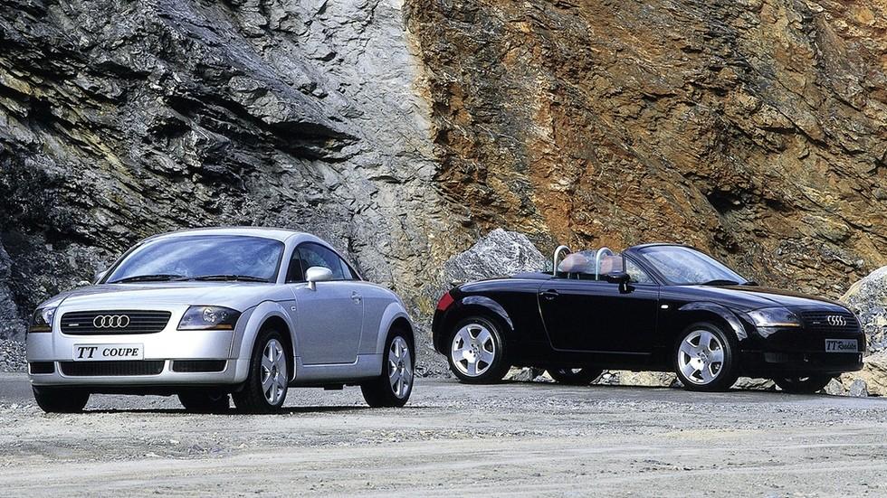На фото: Audi TT '1998–2006