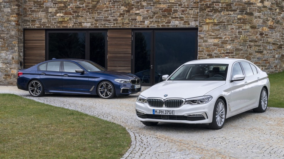 BMW M550i xDrive and BMW 530e iPerformance
