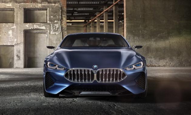 БМВ начал тесты на трассах общего пользования своего нового купе 8-Series
