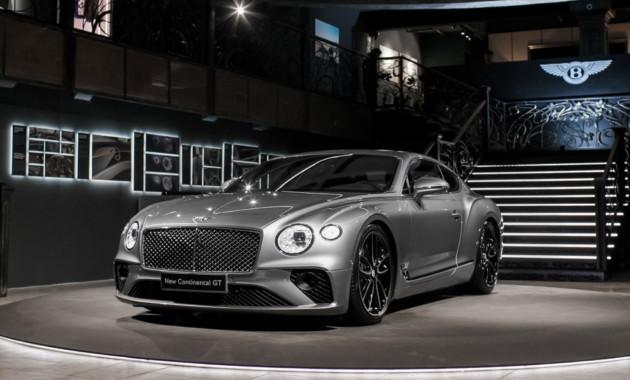 04ДекВ Москве презентовали роскошный Bentley Continental GT нового поколения