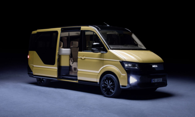 Представлен электрический минивэн наоснове нового Фольксваген Transporter— «Маршрутка» по-немецки