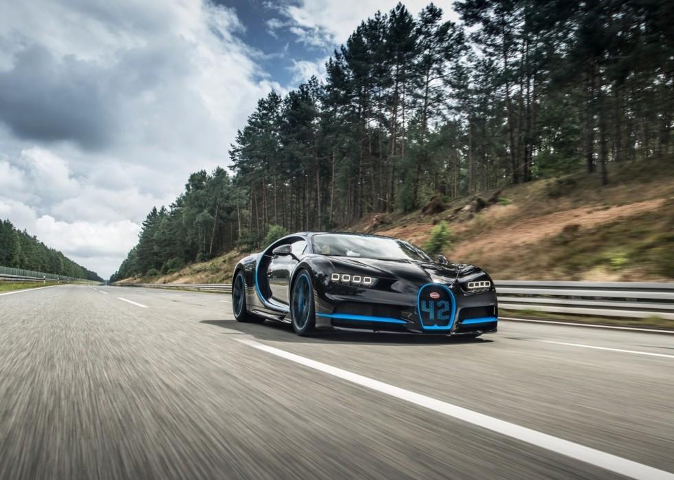 На фото: Bugatti Chiron