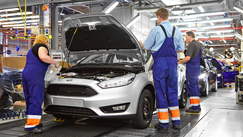 На фото: завод Ford Sollers