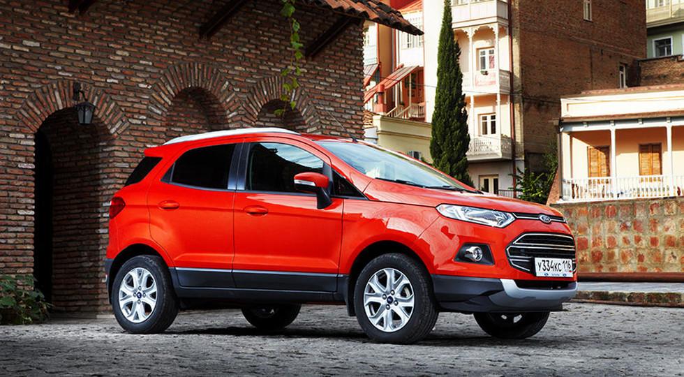 Доля джипов в русских продажах Форд возросла до50%