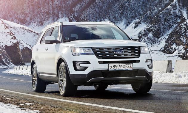 Доля SUV в русских продажах Форд за5 лет подросла до48%