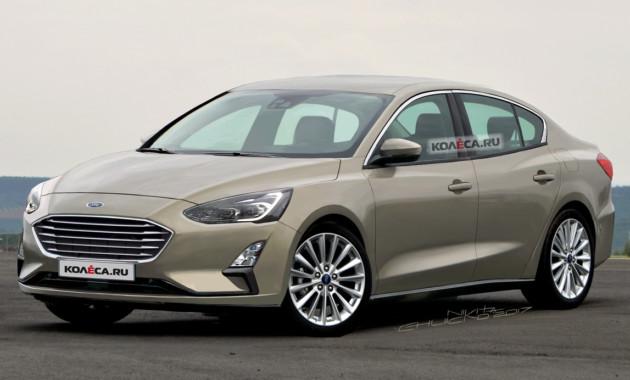 Новый седан Ford Focus IV