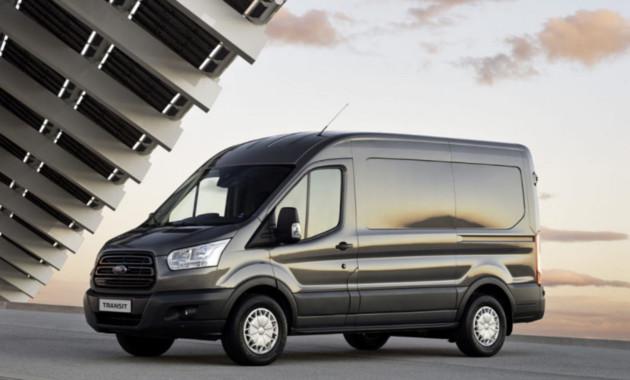 На рынке Российской Федерации  вдвое  вырос объем продаж фургона Форд  Transit