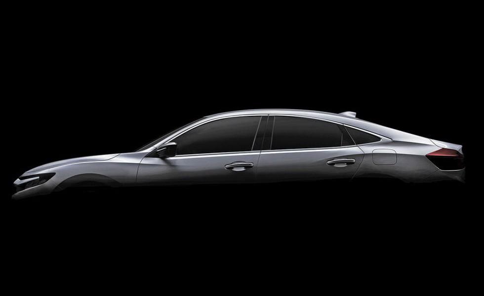 Прототип Honda Insight 2018