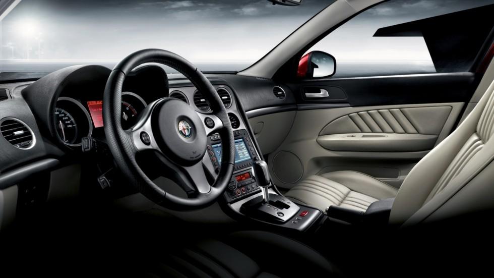 Интерьер Alfa Romeo 159 Worldwide (939A) '2008–11