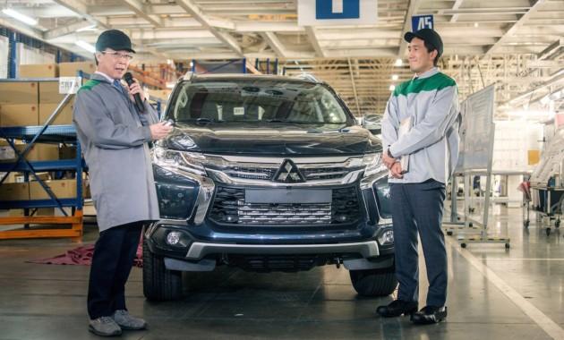 В России возобновлено производство Mitsubishi Pajero Sport