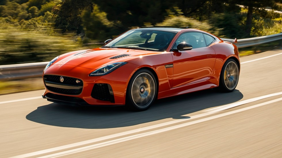 На фото: Jaguar F-Type SVR '2016–17