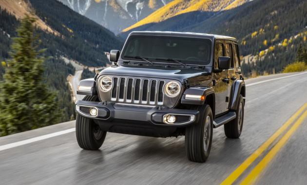 14ДекСтали известны американские цены на Jeep Wrangler JL 2018