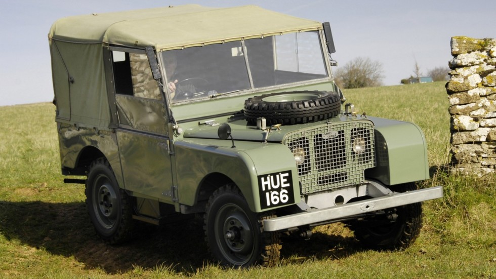 На фото: Land Rover Series I '1948–54