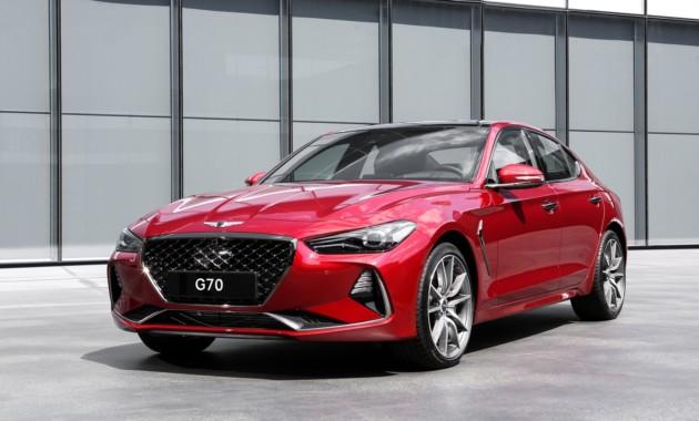 Чудный седан Genesis G70 получит в РФ один мотор