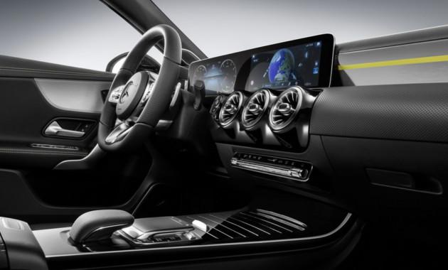 Benz показали инновационный комплекс мультимедиа MBUX