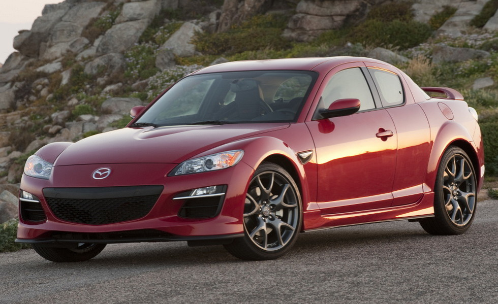 Натестах замечен новый седан Mazda RX-9 сроторным мотором