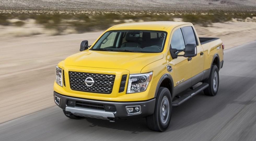 Nissan Titan получит более экономичный двигатель V6 отFrontier