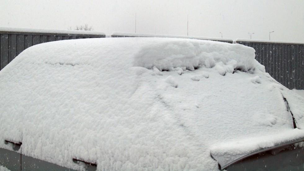 Столько снега за три часа? Совершенно реально!