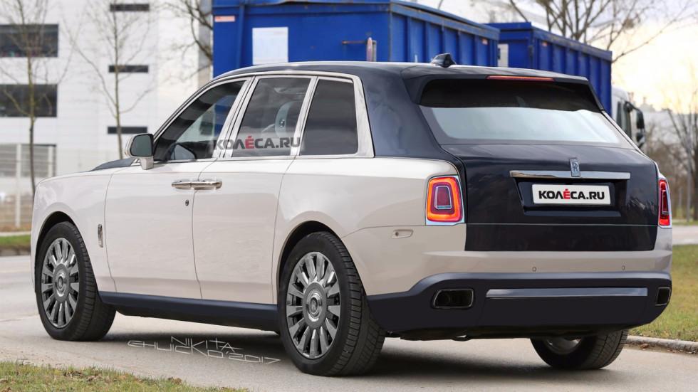 Rolls Cullinan rear3