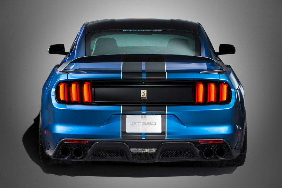 Shelby GT350R Mustang 2016