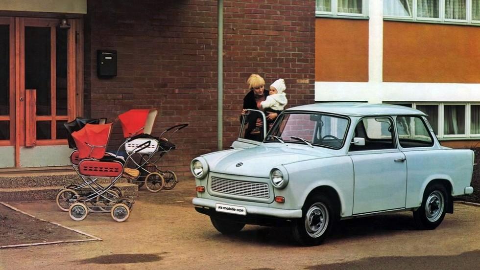 На фото: Trabant 601 '1963–89