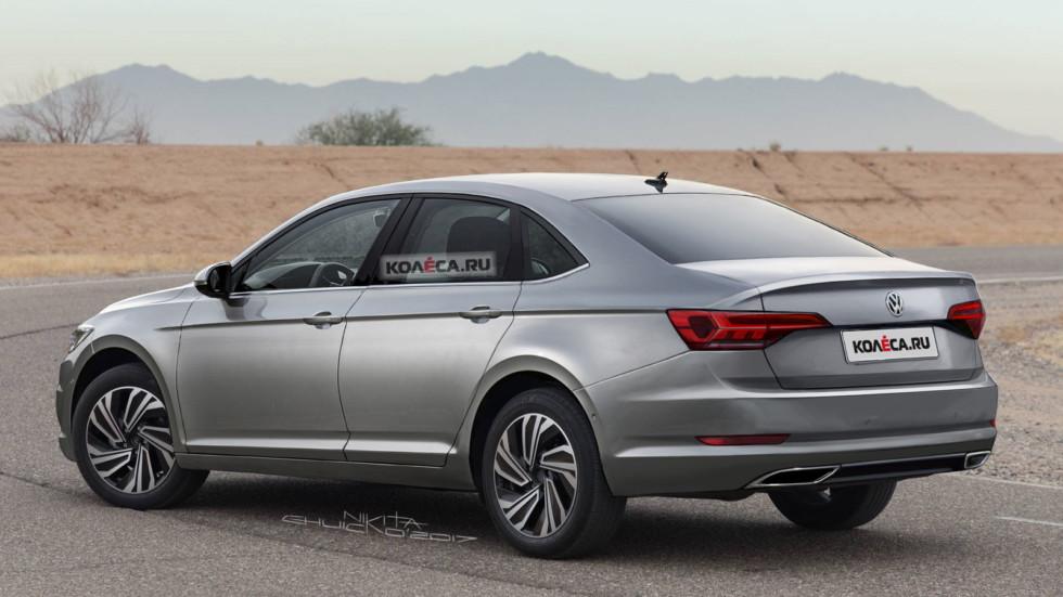VW Jetta rear1