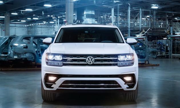 VW отзовет джипы Atlas из-за серьезной неисправности