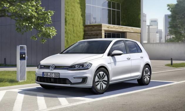 Volkswagen увеличит вдва раза производство e-Golf из-за возросшего спроса class=